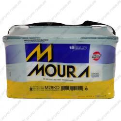 Batería auto Moura 12x75 reforzada (M28KD)
