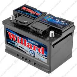 Batería auto Willard 12x55